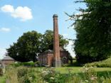 Braunston - a renovated pump house next to the canal.