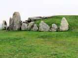 West Kennet  Long Barrow - Wiltshire, England.