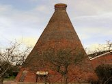 The old brick kiln at Nettlebed, Oxfordshire.