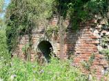 Old Brick Kiln used to make bricks for the defunct Fenny Compton Tunnel.