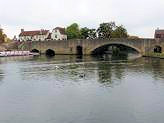 Abingdon's beautiful old Bridge - South Oxfordshire, England.