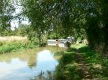 The Oxford Canal's towpath at Fenny Compton.