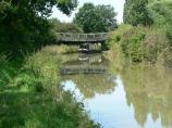Oxford Canal towpath.