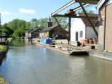 Bulbourne drydocks - old British Waterways workshops, England.