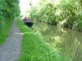 The Grand Union Canal along The Tring Summit near Tring, England.