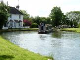 Marsworth Lock Flight and Lock 42, near Bulbourne, England.