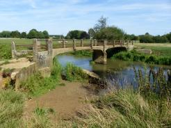 River Cherwell Bridge near Kidlington.