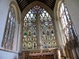 A beautiful East Window at Dorchester Abbey in Oxfordshire, England.